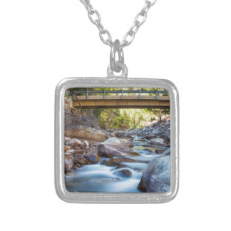 The Crossing Silver Plated Necklace