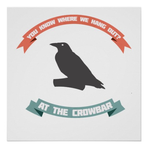 The Crow Joke Poster