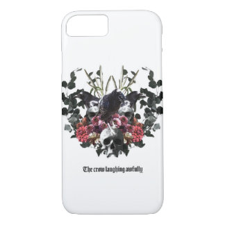 The Crow Laughing Awfully iPhone 8/7 Case