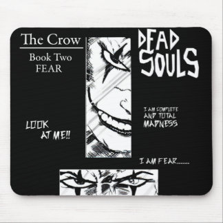 the crow mouse pad