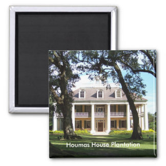 The Crown Jewel of River Road- Houmas House Magnet