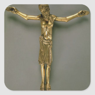 The Crucified Christ, French, second half of 12th Sticker