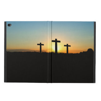 The Crucifixion Crosses at Sunset Powis iPad Air 2 Case