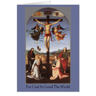 The Crucifixion of Christ by Raphael Card