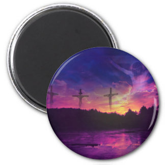 The Crucifixion of Jesus Christ Magnet