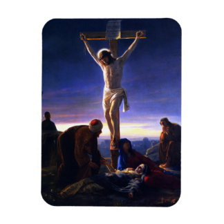 The Crucifixion of Jesus. Fine Art Gift Magnet