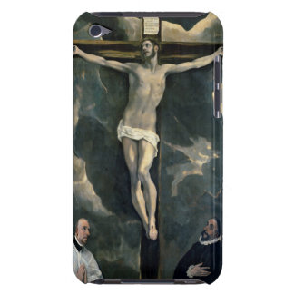 The Crucifixion with Two Donors, c.1580 (oil on ca iPod Touch Case-Mate Case