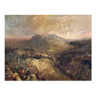 The Crusaders Before Jerusalem Postcard
