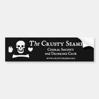 The Crusty Seamen Bumper Sticker