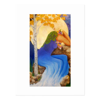 The Cry of Mother Nature, Postcard
