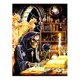 The Crypt Keeper Postcard