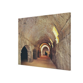 The crypto-porticus canvas print