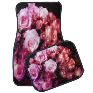 The Crystal Rose Bouquet Car Mat