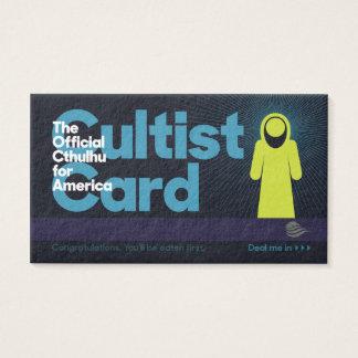 The Cthulhu Cultist Card