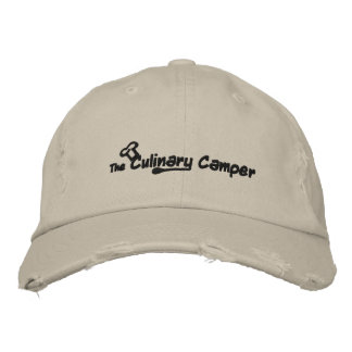 The Culinary Camper Embroidered Hats