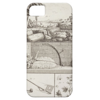 The cultivation of cotton, from the 'Encyclopedia' iPhone 5 Covers
