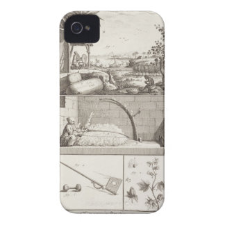 The cultivation of cotton, from the 'Encyclopedia' iPhone 4 Case-Mate Cases