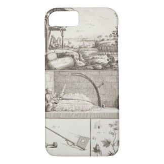 The cultivation of cotton, from the 'Encyclopedia' iPhone 7 Case