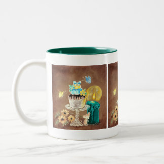 The Cupcake the Candle and the Mouse Coffee Mug