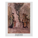 The Cupid Punished By Pompeian Painter Print