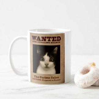 The Curious Calico Kitten Coffee Mug