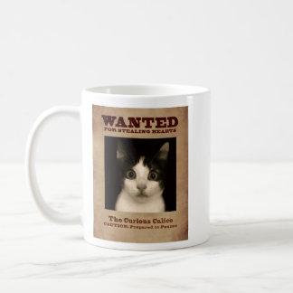 The Curious Calico Kitten Mug