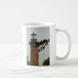 The Currituck Lighthouse at Corrola Beach Coffee Mug