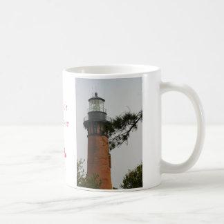 The Currituck Lighthouse at Corrola Beach Mugs