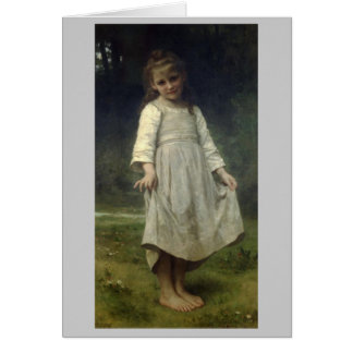 The Curtsey - William-Adolphe Bouguereau Card