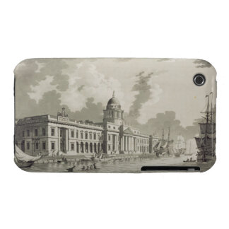 The Custom House, Dublin, 1792 (engraving) Case-Mate iPhone 3 Cases