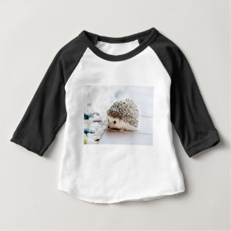 The Cute Baby Hedgehog Baby T-Shirt