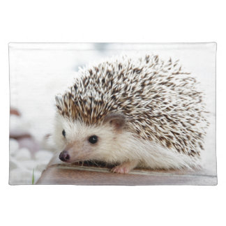 The Cute Baby Hedgehog Place Mat