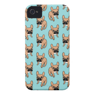 The Cute Black Mask Fawn Frenchie Needs Attention Case-Mate iPhone 4 Case