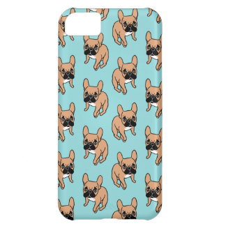 The Cute Black Mask Fawn Frenchie Needs Attention iPhone 5C Case