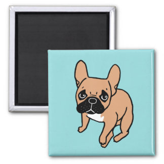 The Cute Black Mask Fawn Frenchie Needs Attention Magnet
