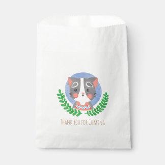 The Cute Cat Favour Bags