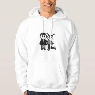 The cute couple hoodie