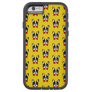 The cute Frenchie scout is ready for his adventure Tough Xtreme iPhone 6 Case