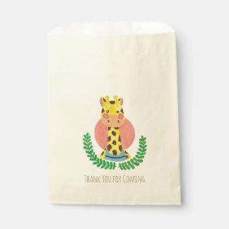 The Cute Giraffe Favour Bags