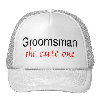 The Cute One (Groomsman) Trucker Hat