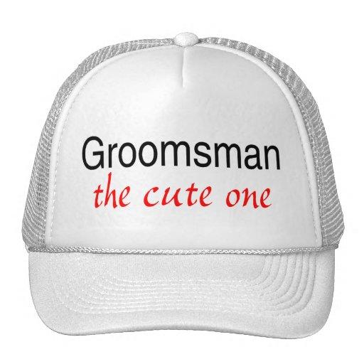 The Cute One (Groomsman) Mesh Hats
