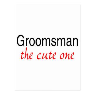The Cute One (Groomsman) Postcard