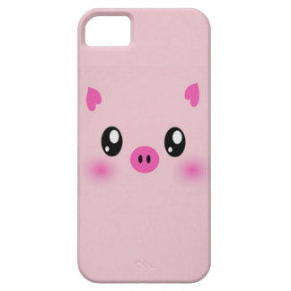 the cute pink pig case iphone