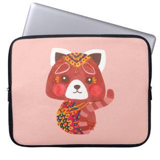 The Cute Red Panda Laptop Sleeve
