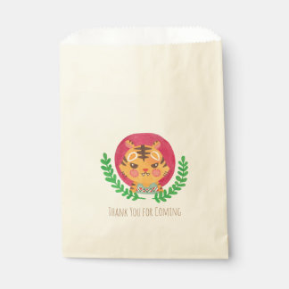 The Cute Tiger Favour Bags