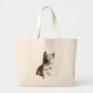 The Cutest Cairn Terrier Ever!  Cuter than Toto! Jumbo Tote Bag