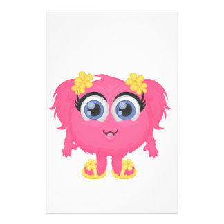 The cutest little monster! personalised stationery