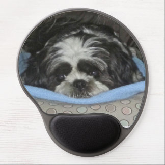 The Cutest Shih Tzu Pet Puppy Gel Mouse Pad