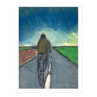 The Cyclist / Flemish Cyclist Postcard