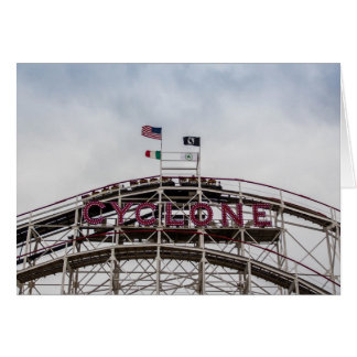 The Cyclone in Coney Island, NY Card